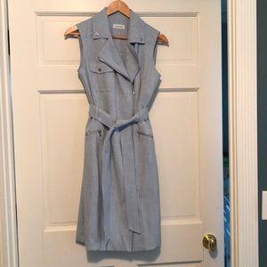 Calvin Klein sleeveless classic day dress